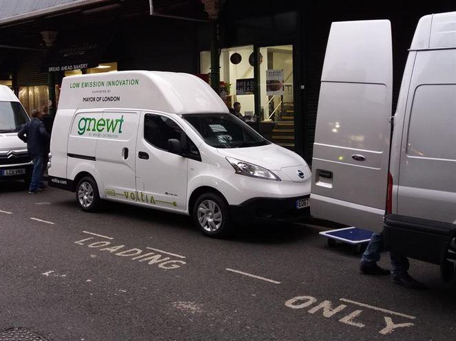 Elektrická dodávka Voltia bude doručovať zásielky v Londýne