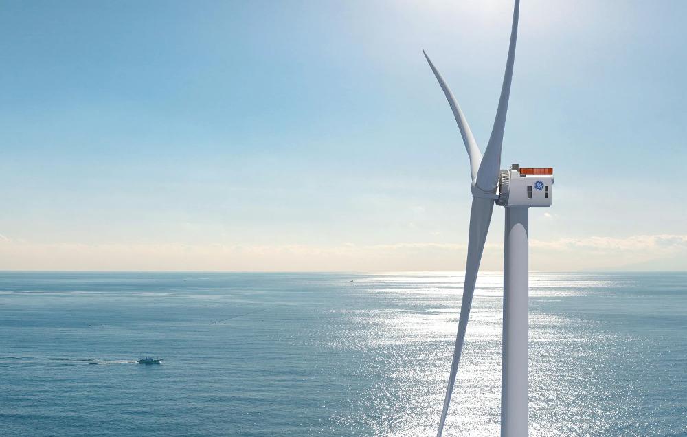 Najväčší offshore veterný park na svete budú tvoriť 250 metrov vysoké turbíny