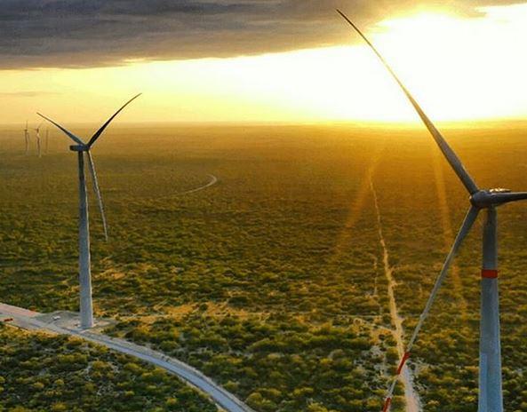 Enel spustil svoju najväčšiu veternú elektráreň na svete