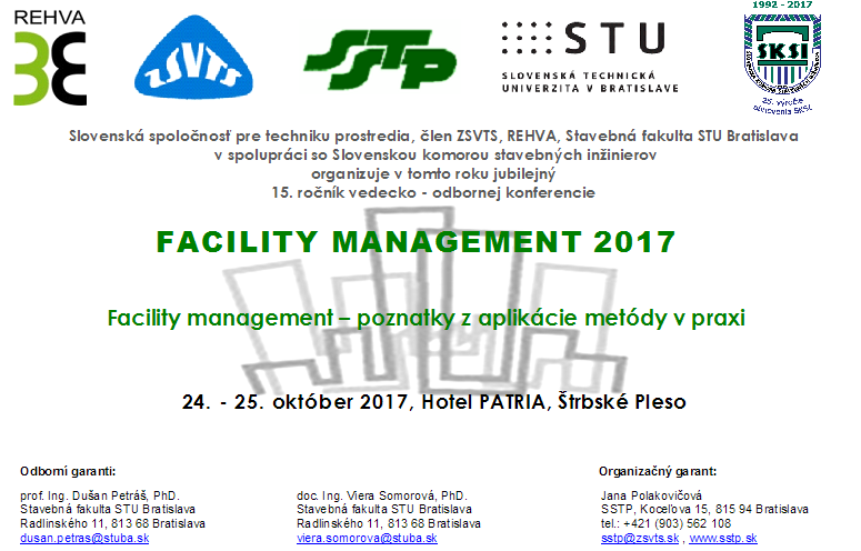FACILITY MANAGEMENT 2017