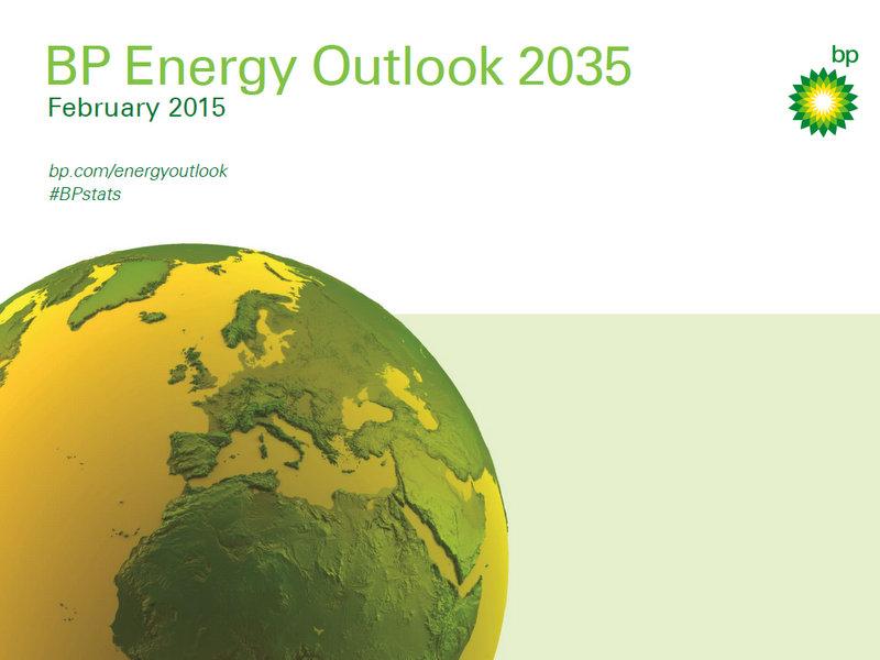 BP vydala novú správu Energy Outlook 2035. Cena energií má dobré vyhliadky