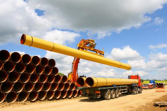 Eustream ukončil výstavbu slovenskej časti slovensko-maďarského plynovodu