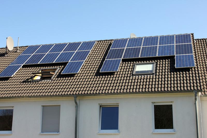 Solárne kolektory na budovách